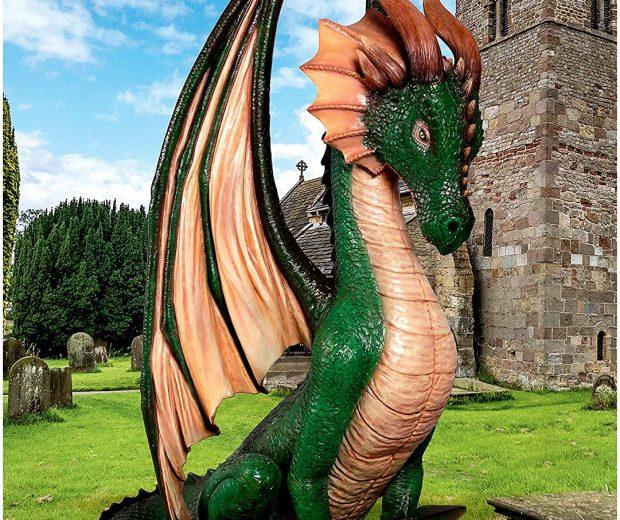Giant Dragon Statue