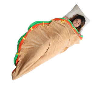 Taco Sleeping Bag Blanket