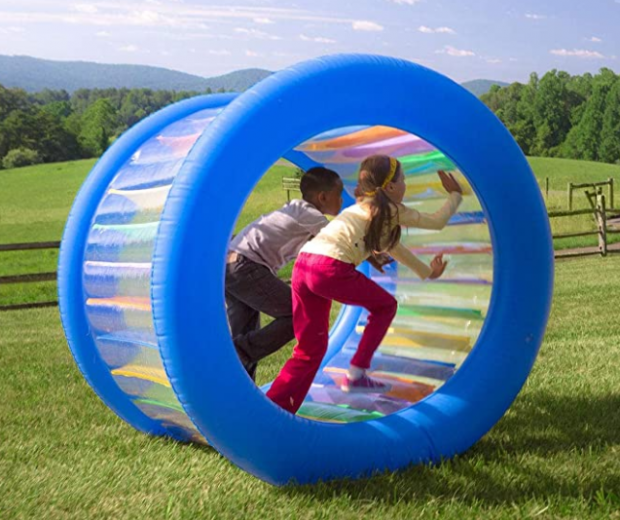 The Inflatable Rolling Wheel