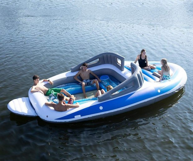 The Inflatable Speed Boat