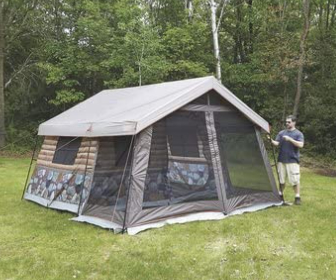 Timber Ridge 8-Person Log Cabin Tent